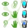 Abbildung: drei Varianten des Zwei-Sinne-Prinzips
